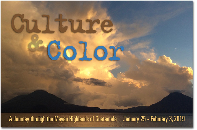 This will be a memorable and activity-filled program, with a strong focus on the arts, culture, and social reality of the Mayan people of Guatemala.