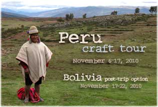 Peru craft tour