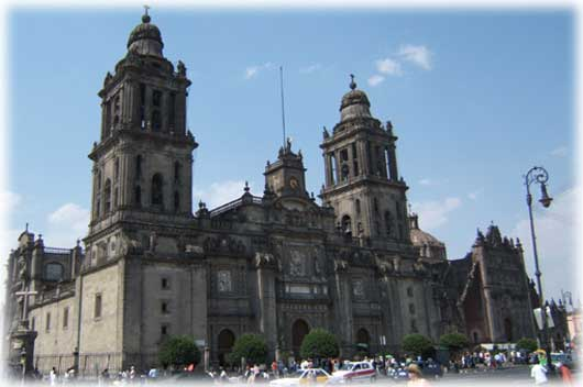 Cathedral, Mexico City